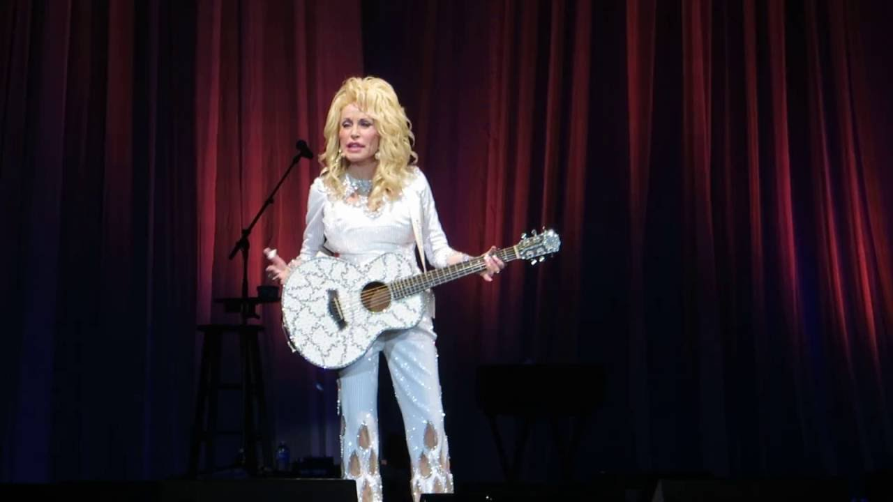 dolly parton sings jolene at the showare center kent wa youtube