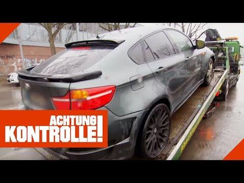 'Hochgradig kriminell!' Illegaler Tuning-BMW wird aus dem Verkehr gezogen! | Achtung Kontrolle