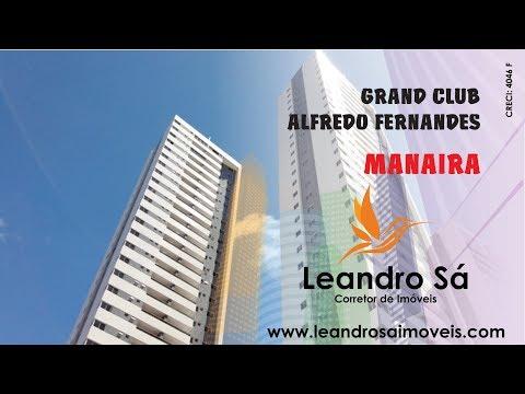 Grand Club Alfredo Fernandes - Apartamento, João Pessoa, Manaira