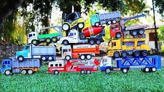 Car Toys For Kids - Military vehicle , Construction vehicle , Excavator , Dump Truck ,Road Roller