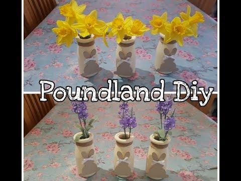Poundland DIY - Easter - Mothers Day - Cheap home decor idea