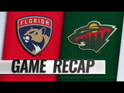 Granlund hits 300 career points as Wild down Panthers