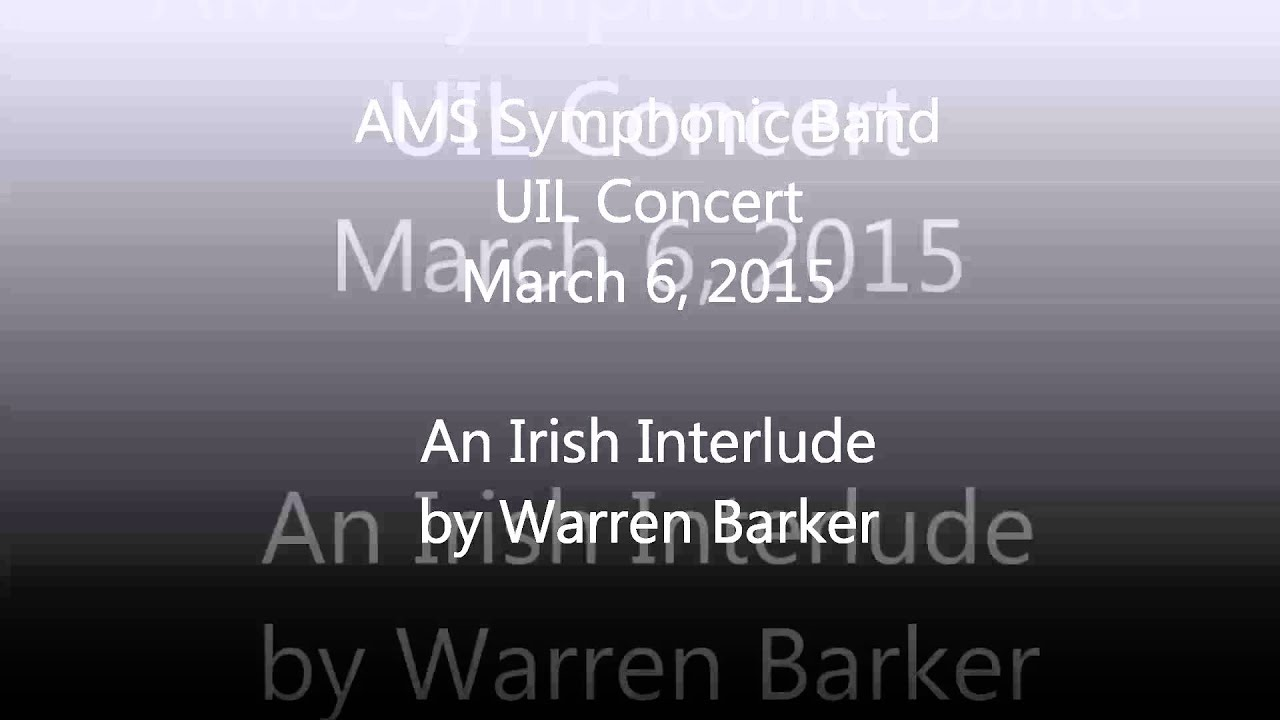 An Irish Interlude - TMPB-Vol 3
