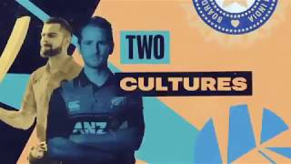 India V/s New Zealand series promo video with HD definition
