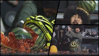 뚝배기 깨기 달인 천대광의 헬멧 비교 테스트 [대광이형] Helmet Crash Test in Slow Motion