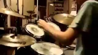 brush solo over baião ostinato by Brian Knave