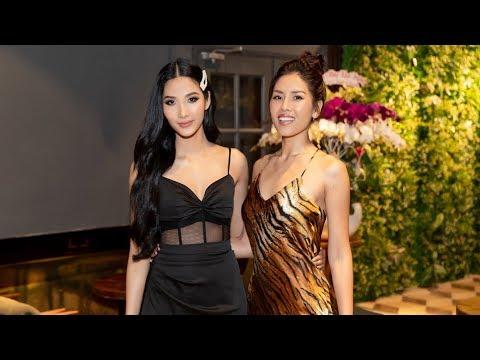Hoàng Thùy, Nguyễn Loan và các mỹ nhân Hoa hậu Hoàn vũ Việt Nam đọ sắc tại tiệc khai trương Đôi dép