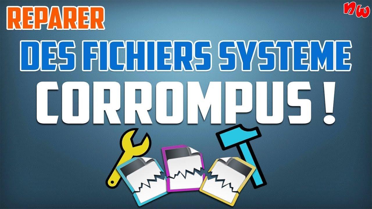 Réparer des fichiers système ENDOMMAGÉS ou CORROMPUS ! | Windows
