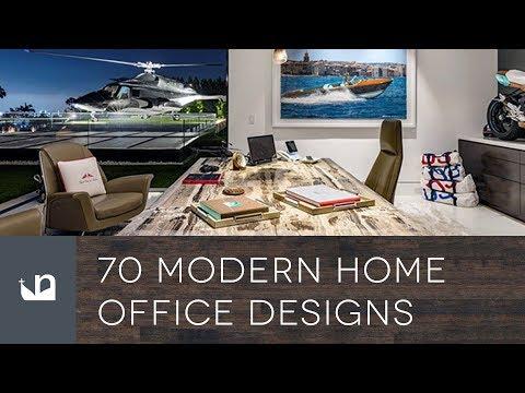 70 Modern Home Office Designs