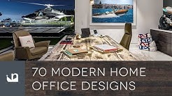 70 Modern Home Office Designs