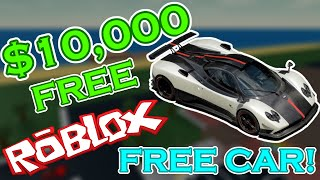 (ROBLOX) HIGH SCHOOL LIFE HOW TOGET FREE $10,000 CASH AND A FREE SPORTS CAR!