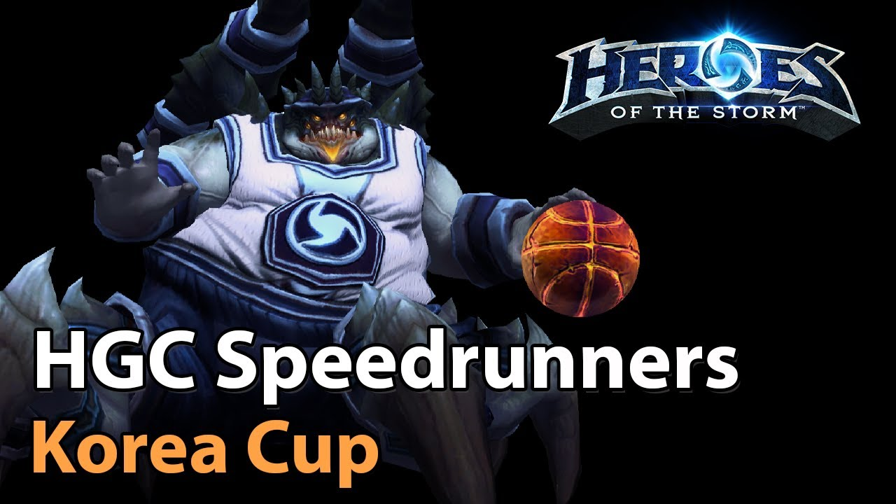 ► HGC Speedrunners! - Korea Cup - Heroes of the Storm Esports