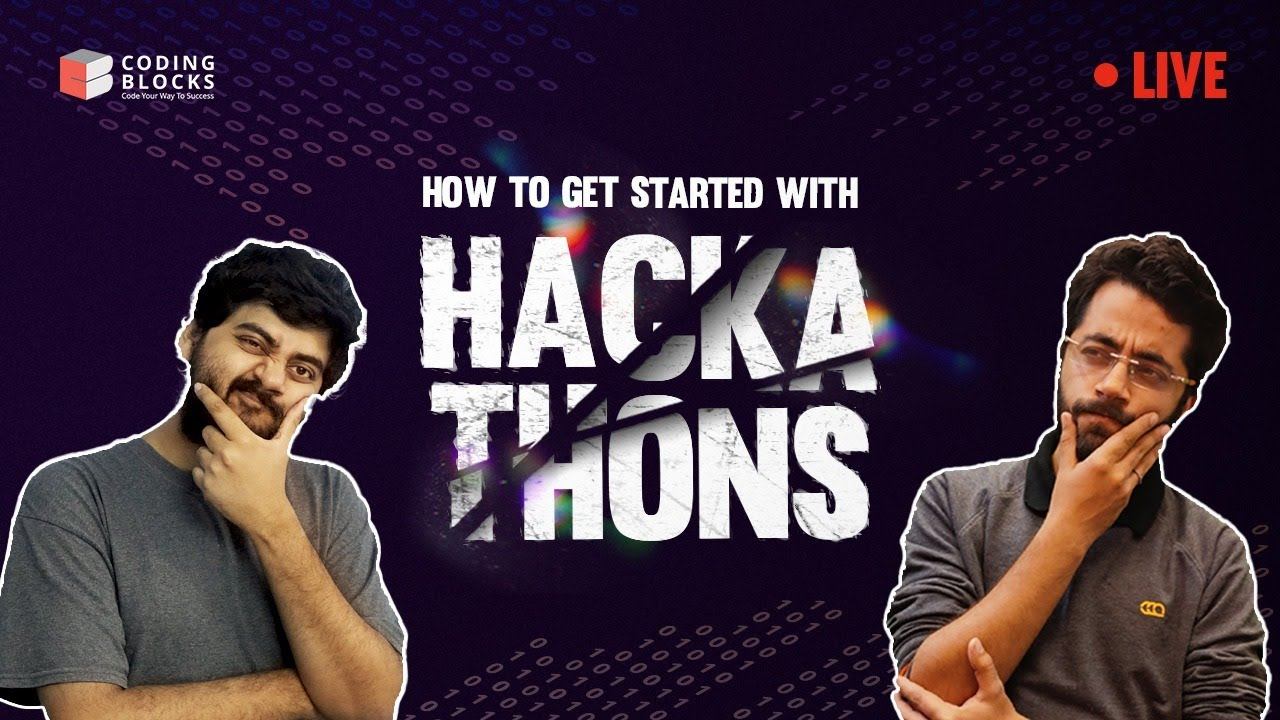 How to get started with Hackathons ⁉️