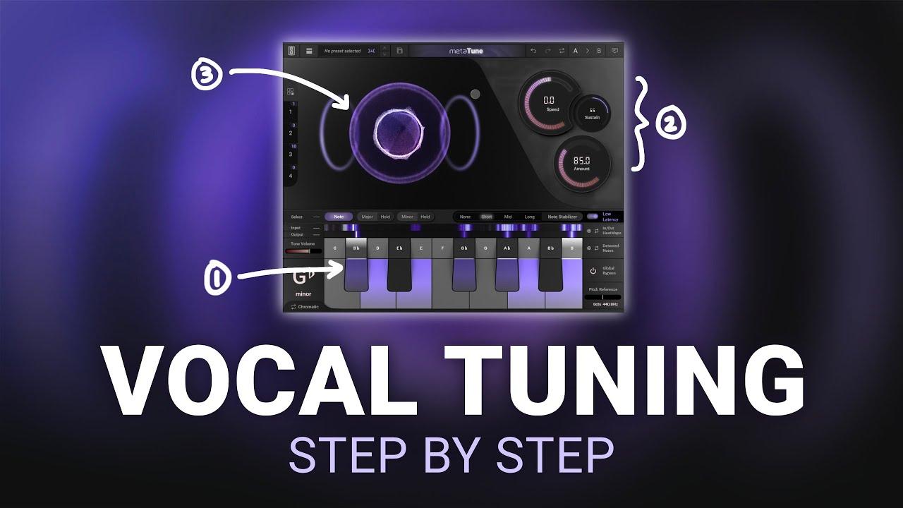 How To Tune Vocals - MetaTune Tutorial