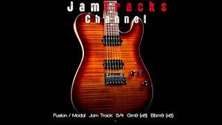 Modal Fusion Jam Track in 5/4 - JamTracksChannel -