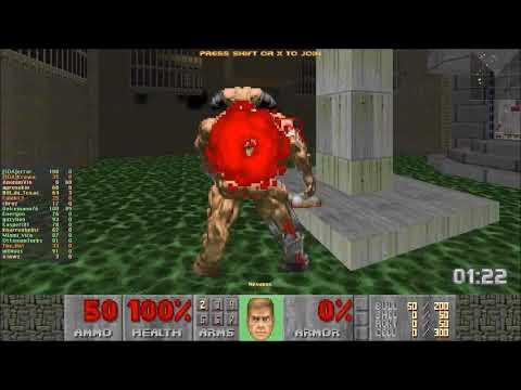 ZDaemon Thursday Night Survival #200 Highlights - DooM 2: Hell on Earth on Nightmare