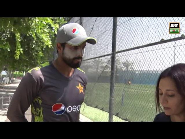 Pakistan A captain Umar Amin ahead of the T20 against New Zealand A