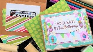 Hoo-Ray! Happy Birthday Card/Gift Card Holder