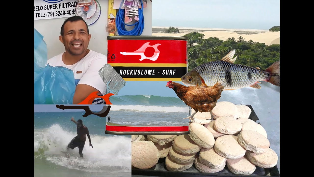 Rock Volume TV programa 2 - Ponta dos Mangues Surf Sergipe