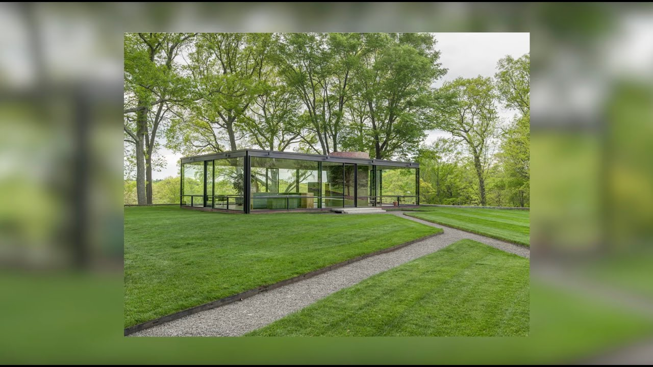 Glass Houses by Design Legends: Mies van der Rohe, Philip Johnson, Paul Rudolph