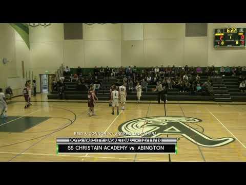 Abington vs South Shore Christian Academy Boys Varsity Basketball - 12/11/18