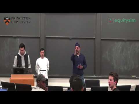EquitySim x Princeton University: Entrepreneurship Class