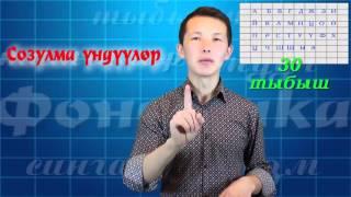 Кыргыз тили: фонетика(1-сабак)