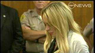 Video Lindsay Lohan Sentenced to Jail download MP3, 3GP, MP4, WEBM, AVI, FLV November 2018