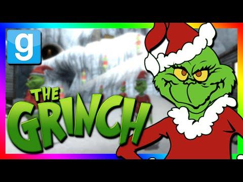 THE GRINCH HIDE AND SEEK | Gmod Sandbox Minigame (The Grinch Mod)