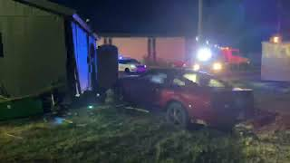 Mustang slams into South Plains Implement