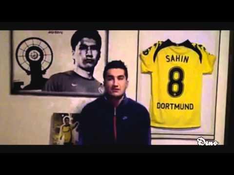 Borussia Dortmund Schalke 04 0-0 Derby Videobotschaft von Nuri Sahin   BvB S04 3.02.11