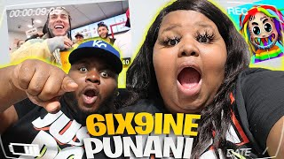 6IX9INE- PUNANI (Official Music Video) REACTION |Plus Size Edition