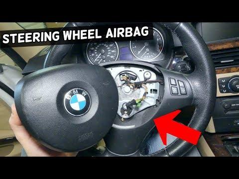 How To Remove Steering Wheel Airbag On Bmw E90 E92 E60 E61 E82 E83