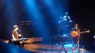 Tegan and Sara - Sara's Sainthood stories (before On Directing) [Paris, France - June 25, 2013]