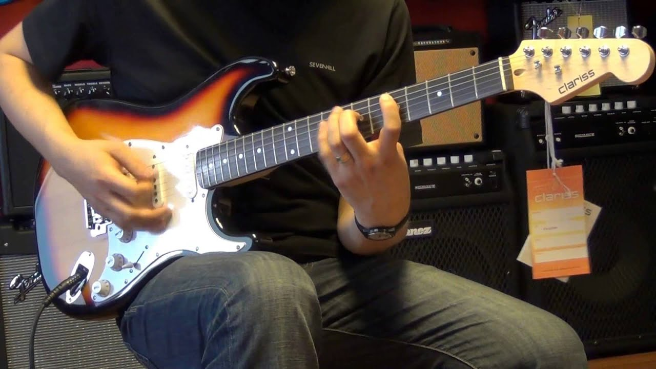 clariss ceg 100 elektro gitar