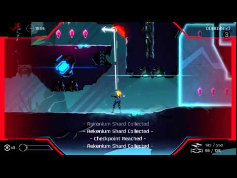 Perfect on the Hardest level in Velocity 2X (So far) (Level 27)