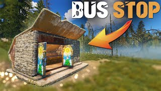 Meet The 200IQ BUS STOP Base That Made me Rich - Rust