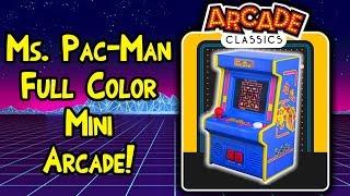Arcade Classics Mini Ms. Pac-Man Arcade Machine!