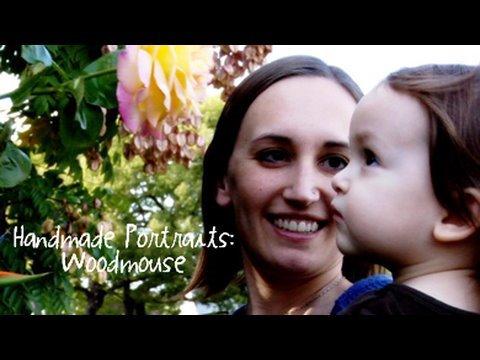 Handmade Portraits: Woodmouse