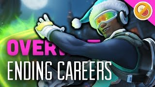 HOW TO END A CAREER - Overwatch 3v3 Gameplay (Funny Moments)