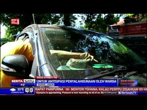 Polisi Militer Razia Penyalahgunaan Atribut TNI di Bogor