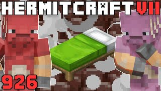 Hermitcraft VII 926 Getting Netherite With Beds!