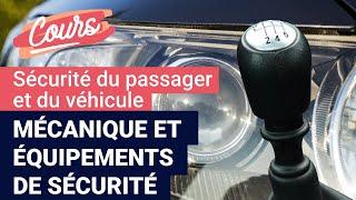 Mécanique et équipements de sécurité