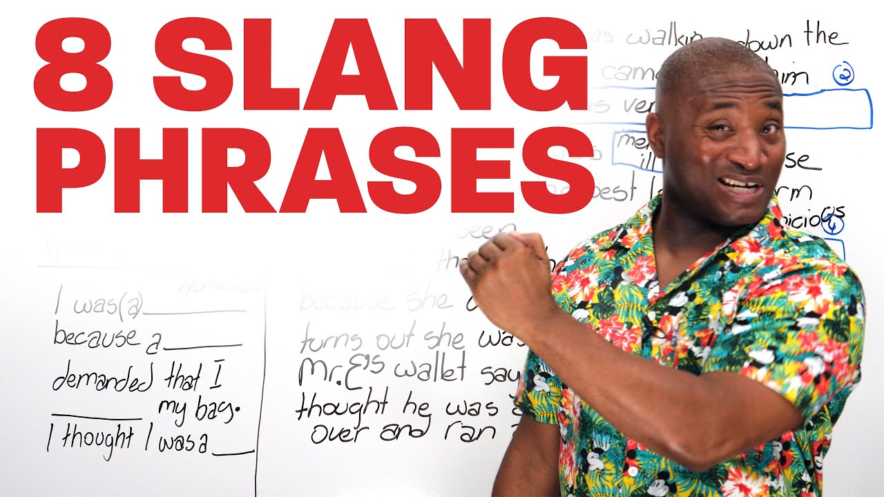 8 Common Slang Phrases in English