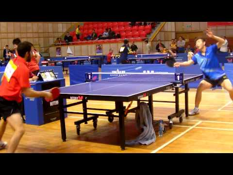 LUO WeiHeng (CHN) vs. AVI-TAL Omer (PAN) - DHS Cup 2015 (Teams event)