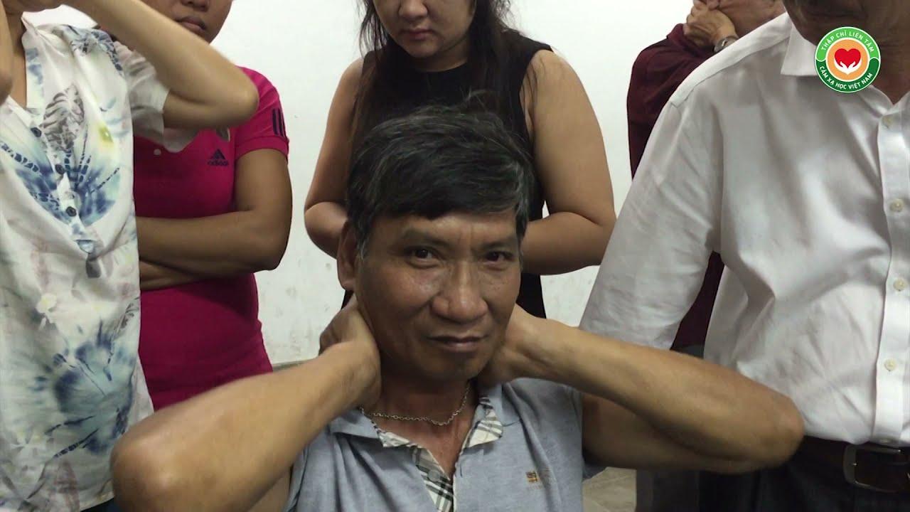 Tự chữa ù tai cho nhau, khỏi 90% ngay trong giờ học bấm huyệt Thập Chỉ Đạo