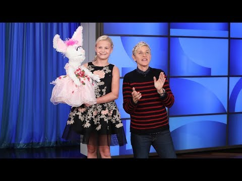 'America's Got Talent' Winner Darci Lynne Leaves Ellen Speechless