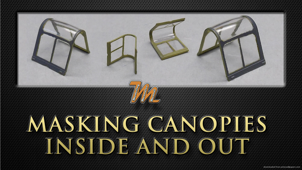How to create canopy masks for the inside and outside. Plastic scale modelling tutorial  sc 1 st  YouTube & How to create canopy masks for the inside and outside. Plastic ...