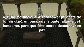 Guia para hacer la quest (mision) The restless ghost [Spanish] - Runescape