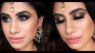 INDIAN BRIDAL MAKEUP | Tips & Tricks | Drugstore | Malvika Sitlani